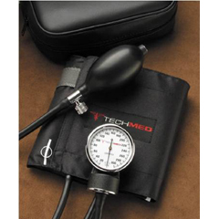MON94702500 - Tech-Med ServicesAneroid Sphygmomanometer 2-Tube Adult