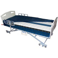 MON95010500 - Bluechip MedicalAlternating Pressure Mattress System Power Pro® Elite Alternating Pressure with Low Air Loss 9 X 36 X 80 Inch