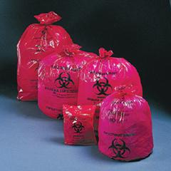MON95121100 - McKessonInfectious Waste Bag Medi-Pak® SAF-T-SEAL® 40 X 46 Inch Printed, 200EA/CS
