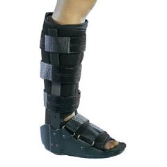 MON95353000 - DJOAnkle Walker Boot SideKICK® Medium Hook and Loop Closure Left or Right Ankle