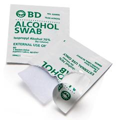 MON915121EA - BD - NonSterile Alcohol Swabs