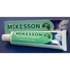 MON95711700 - McKessonToothpaste Mint 1.5 oz. Tube, 12EA/BX 12BX/CS