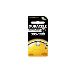 MON95999600 - Duracell - Duralock Power Preserve™ Silver Oxide Battery 395/399 Cell 1.5V Disposable 1 Pack