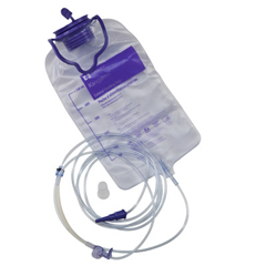 MON96004601 - MedtronicEnteral Feeding Pump Bag Set Kangaroo 924 1000 mL