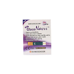 MON1042247BX - Links Medical - Glucose Meter Test Strips GlucoNavii®, 50EA/BX