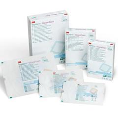 MON96422102 - 3MTegaderm™ Silicone Foam Border Dressing (90642)