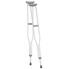 MON97663800 - Apex-CarexUnderarm Crutch Push Button Aluminum Adult 250 lbs.