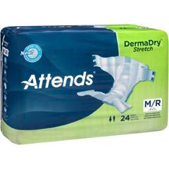 MON98023100 - AttendsAttends DermaDry® Briefs (DDSMR), Medium, 24/BG