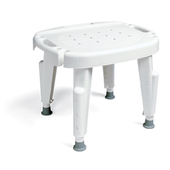 MON98273500 - Maddak - Shower Chair Removable Arm Without Backrest 16 to 21