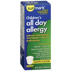 MON98372700 - McKessonsunmark® Childrens Allergy Relief (3579869)