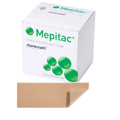 MON98402100 - Molnlycke HealthcareMepitac Silicone Tape 1.5X59