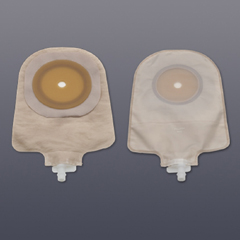 MON230827BX - Hollister - Urostomy Pouch One-Piece System 9 Length Drainable Trim To Fit, 10EA/BX