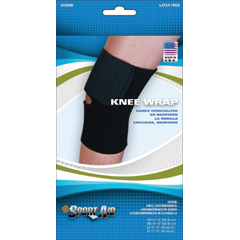 MON98603000 - Scott Specialties - Knee Sleeve Sport-Aid Medium Slip-On 14 to 15 Circumference Left or Right Knee
