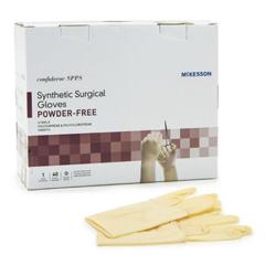 MON99151304 - McKessonSurgical Glove Select Sterile Powder Free Polyisoprene / Polychloroprene Smooth Yellow Size 7 Hand Specific