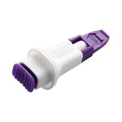 MON99302410 - Arkray - Safety Lancet Assure® Lance Plus Fixed Depth Lancet Needle 0.7 mm Depth 30 Gauge Push Button, 100/BX, 24BX/CS