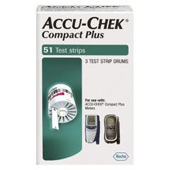 MON99482400 - Roche - Accu-Chek® Compact Blood Glucose Test Strips (5599415160), 51/BX, 48BX/CS