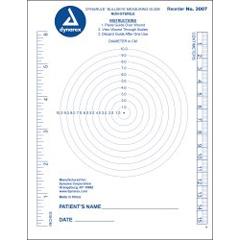 MON99502100 - Dynarex - DynaRule Bullseye Measuring Guide, 250/PK