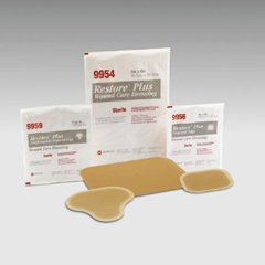 MON99532101 - HollisterHydrocolloid Dressing Restore® 4 X 4 Inch