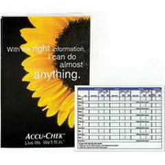 MON99672400 - Roche - Self-Check Diary Accu-Chek® Advantage, 25/BX