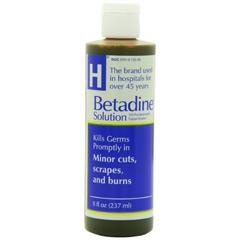 MON99762300 - Purdue PharmaFirst Aid Antiseptic Betadine 8 oz. Liquid (1416981)