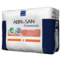 MON93823140 - AbenaAbri-San 8 Premium Incontinence Pads, Moderate to Heavy
