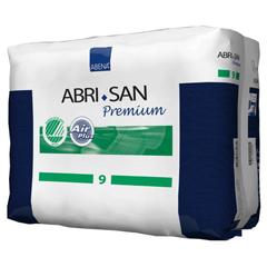 MON93843101 - AbenaAbri-San 9 Premium Incontinence Pads, Moderate to Heavy