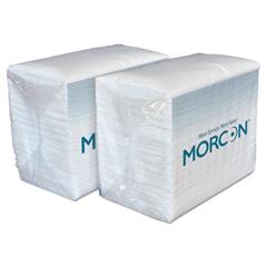 MOR3466 - Dinner Napkins, 2-Ply, White, 14 1/2 x 16 1/2, 3000/Carton