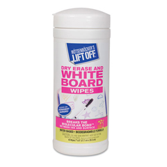 MOT42703CT - Motsenbockers Lift-Off® Dry Erase Board Cleaner Wipes
