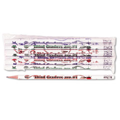 MPD7863B - Moon Products Decorated Motivational Pencil