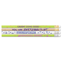 MPD8207 - Moon Products Award Pencil, Motivational Assortment