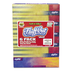 MRC261236CT - Marcal® Fluff Out Convenience Six-Pack Recycled White Facial Tissue