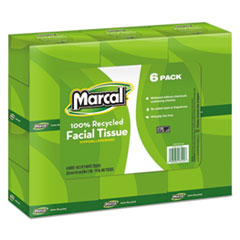 MRC4034 - Marcal PRO™ 100% Premium Recycled Convenience Pack Facial Tissue