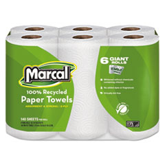 MRC6181PK - Marcal® Perforated Maxi Roll Towels