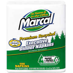 MRC6520 - Marcal® 100% Premium Recycled Executive Dinner Napkins