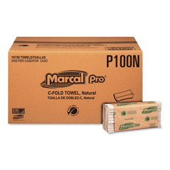 MRCP100N - Marcal PRO™ 100% Recycled Folded Paper Towels