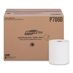 MRCP706B - Marcal PRO™ 100% Recycled Hardwound Roll Paper Towels