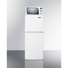 SMAMRF71ES - Summit Appliance - Frost-Free Refrigerator-Freezer-Microwave Combination, Thin-Line Width