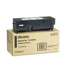 MURTS40360 - Muratec TS40360 Toner, 12000 Page-Yield, Black