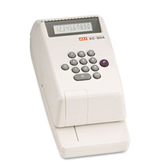 MXBEC30A - Max® Electronic Checkwriter