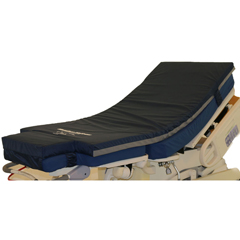 NAM2602 - North America MattressComfort Pad, Egg Crate Foam With Vinyl Cover And Mattress Attachment