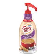 NES13799 - Nestle Coffee-mate® Sweetened Original Liquid Creamer Pump Bottle