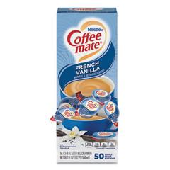 NES35170BX - Nestle Coffee-mate® French Vanilla Liquid Creamer Singles