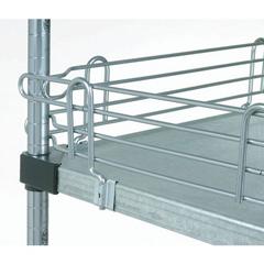 NEXSL24C - Nexel Industries - Shelf Ledge for Solid Shelves, Size 4H x  24W