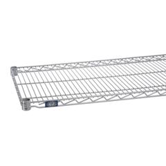 NEXS2430EP - Nexel IndustriesSilver Grey Epoxy Finish Wire Shelf