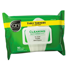 NICA580FW - Sani Professional Table Turner Wet Wipes