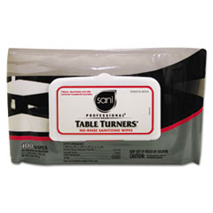 NICM924SH - Table Turners® No-Rinse Sanitizing Wipes