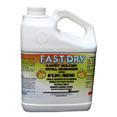 NMC5001B - NamcoFast Dry Carpet Rinse With DLimonene, Gallon, 4 GL/CS