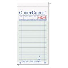 NTCG6000 - National Checking Company™ Guest Check Pad