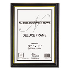 NUD17181 - NuDell™ Gold Trim Deluxe Document Frame