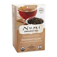 NUM10220 - Numi Organic Breakfast Blend Tea